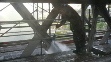 Reabilitação de pontes 2500 bar