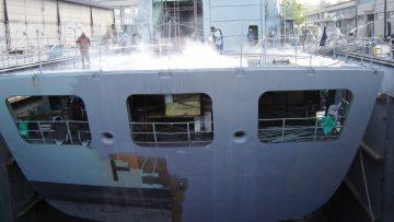 Hidrodecapagem em deck 2500 bar