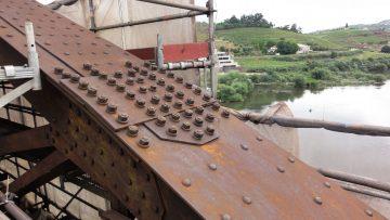 Hidrodecapagem de estruturas metálicas 2500 bar