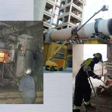 Limpezas gerais em fábricas de cimento