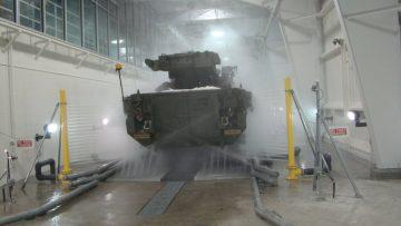 Túnel de lavagem 800 bar